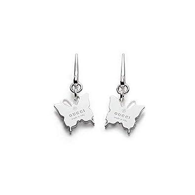 f9d9fa3b7 Gucci Boucles d'oreilles Trademark Argent Ref. ybd223991001: Amazon ...