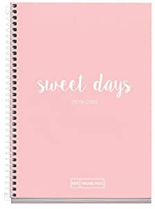 Amazon.com : Miquelrius School Diary with Spiral 19/20 Week ...