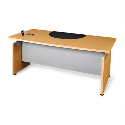 OFM 55501-CHY Milano Series Executive Desk, 36