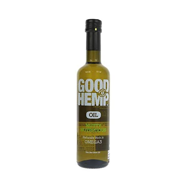 Good Hemp Food Hemp Oil – Original 500ml (Pack of 6)