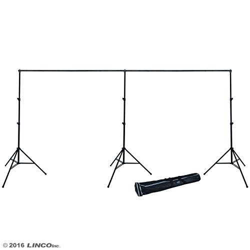 Linco Lincostore 9x20 feet Heavy Duty Photography Backdrop Stand Background Support System Kit 4166 by Linco