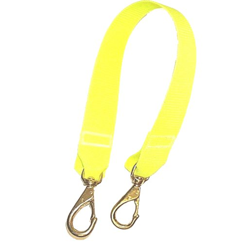 (JCS Nylon Lift Bag Strap, 2 Feet, Yellow)