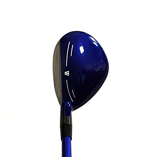 Japan WaZaki Black Finish WL-IIs 4-SW Combo Hybrid Irons USGA R A Rules Golf Club Set + Headcover(pack of 16,Regular Flex) by wazaki (Image #3)