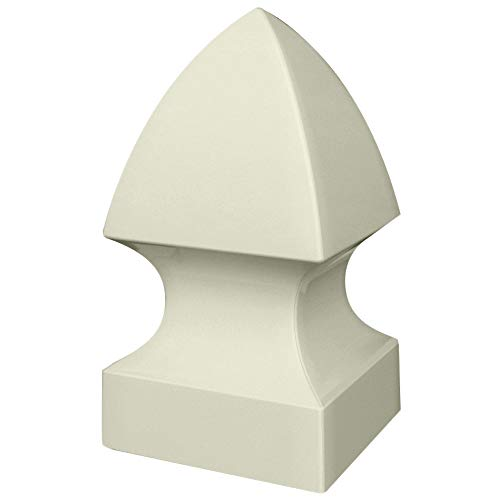 Outdoor Essentials 5 in. x 5 in. Vinyl Gothic Fence Post Cap (Tan) ()