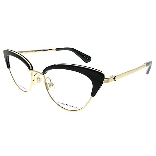 Kate Spade Jailyn 807 Black Plastic Cat-Eye Eyeglasses 50mm (Cat Eye Glasses 2017)
