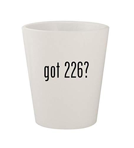 got 226? - Ceramic White 1.5oz Shot ()