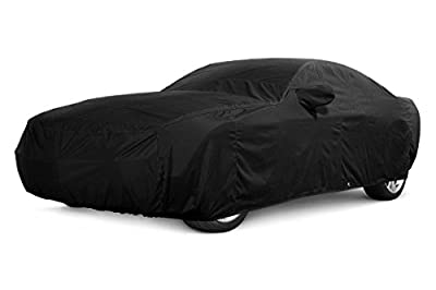 CarsCover 2008-2016 Dodge Challenger Custom Fit Car Cover Xtrashield Black Covers