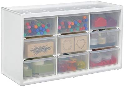 Art Bin 0365498 ArtBin Store-In-Drawer Cabinet-14.375in x 6in x 8.675in, 9
