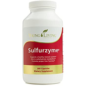 Amazon Com Sulfurzyme Capsules 300 Ct By Young Living Essential