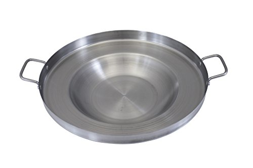 Concord Global Trading CONCORD Stainless Steel Comal Frying Bowl Cookware (22