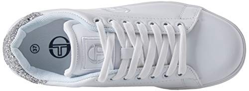 Zapatillas Cross Plateado de Forher para Sergio 02 Tacchini Mujer Ltx Silver xXfZZ7