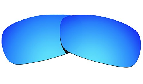 COLOR STAY LENSES 2.0mm Thickness Polarized Replacement Lenses for Oakley Crosshair 2.0 (OO4044) Sunglass (Ice Mirror - Golf Sunglasses Compare