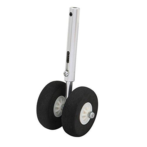 Aexit RC Model Electrical equipment Airplane Servoless Retractable Landing Gears 45mm Sponge Wheel