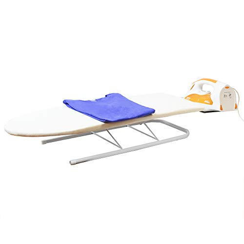 Countertop Ironing Board - Sunbeam Tabletop Ironing Board with Folding Legs and Iron Rest