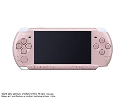 SONY PSP Playstation Portable Console JAPAN Model PSP-3000 Blossom Pink (Japan Import)