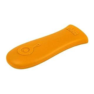 "Lodge Silicone Hot Handle Holder, 5.13"" x 2"", Orange"