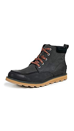 Black Men's Grill Toe Moc SOREL Waterproof Madson Boots qfx0YdnSZ