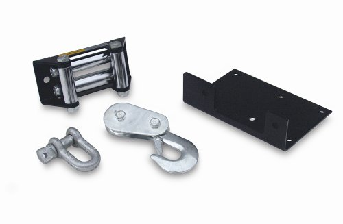 - Superwinch 2302001 Kit - ATV Accessory Kit for LT2000, includes mount plate, roller fairlead, pulley block, D-shackle