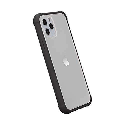 Amazon Basics iPhone 11 Crystal Mobile Phone Case (Protective & Anti Scratch) – Black