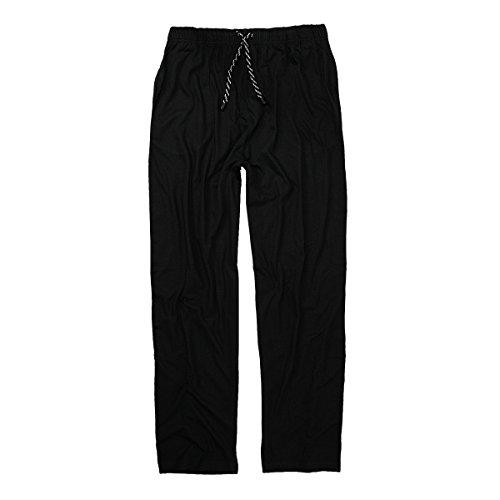 Noir Surdimensionné Pyjama Pantalon Adamo Long wpOq6IPpxn