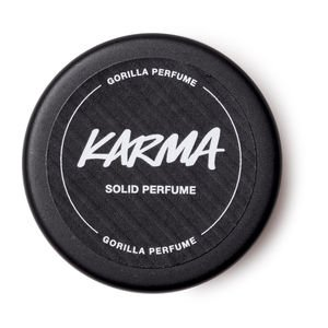 Karma Solid Perfume by Lush Vegan Non Animal Tested Lush Cosmetics