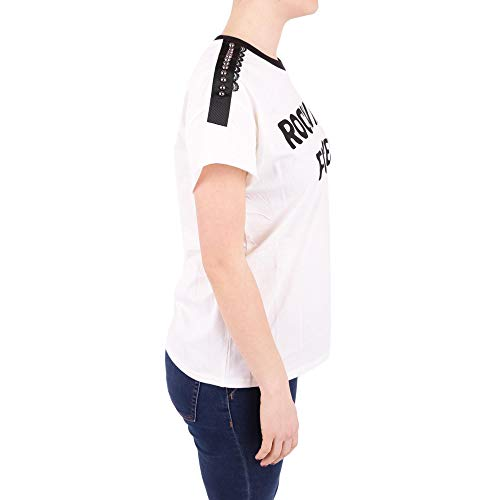 shirt Blanco set Algodon Mujer T Twin Ps82n10018c UY14yw