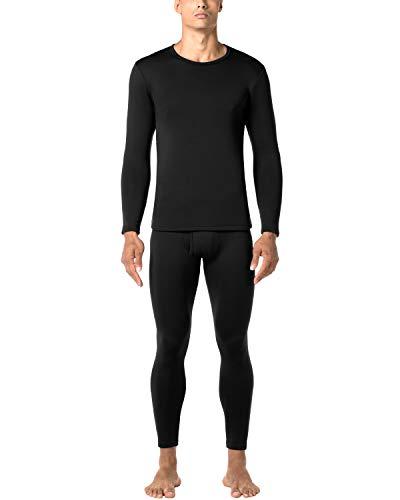 - LAPASA Men's Heavyweight Thermal Underwear Long John Set Fleece Lined Base Layer Top and Bottom M24