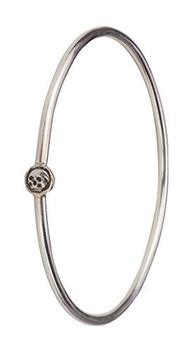 PYRRHA Bracelet jonc Argent Oxydé Femme