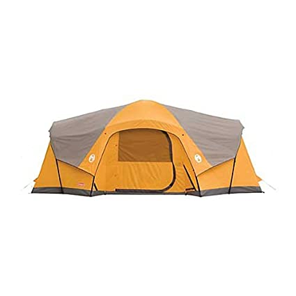Coleman Canyon Breeze 10 Person Tent  sc 1 st  m.amazon.com & Amazon.com : Coleman Canyon Breeze 10 Person Tent : Family Tents ...