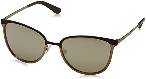 Vogue Sonnenbrille (VO4002S) BROWN/BRUSHED PALE GOLD MT