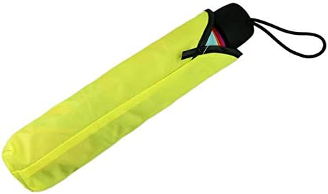 Rainbow Pattern UV Coating,Double Canopy ,Patio Outdoor Rainproof Umbrella BeautyShe Windproof Beach Travel Folding Umbrella