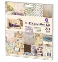 Prima Marketing Collection Kit 12''x12''-french Riviera