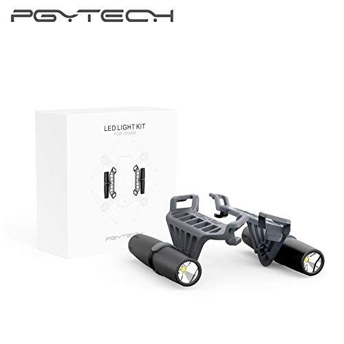 PGYTECH Portable DJI Spark Night Flight LED Light Lighting Kit for DJI Spark Drone Accessories