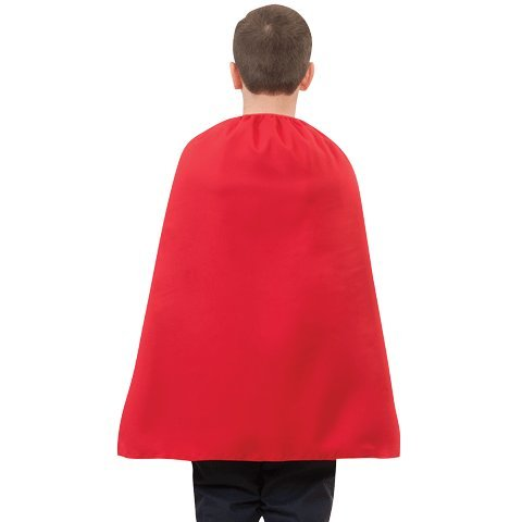 [Kids Red Superhero Cape 26 inches] (Superhero Cape Kids)