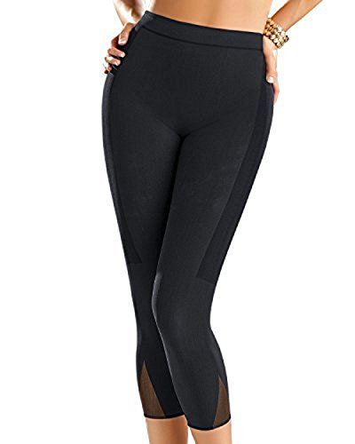 0e9b769bf18 Leonisa Invisible Compression Slimming Leggings. Review - Leonisa Invisible  High Waisted Super Comfy Compression Tummy Control ...