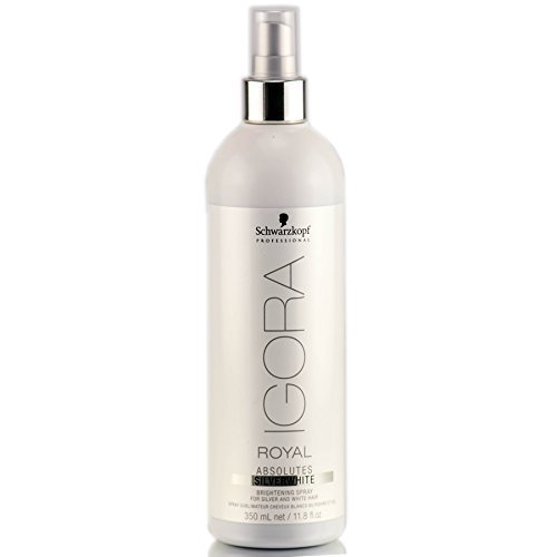 Schwarzkopf Professional Igora Royal Absolutes Silverwhite Brightening Spray - 11.8 oz