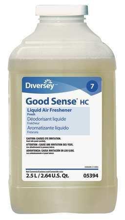 Diversey 905394 CPC 2.5 Litre Good Sense HC Liquid Air Freshener44; Fresh - Case 2