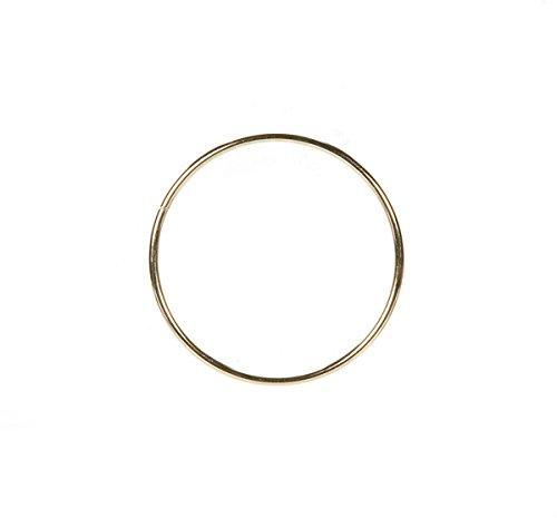 Darice 3mm Gold Metal Ring, - Gold Metal Craft Rings