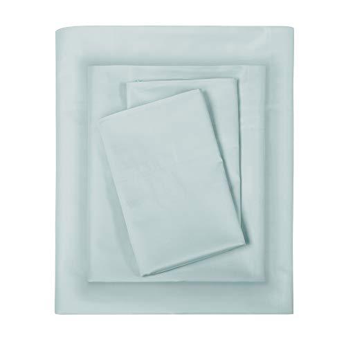 - Sleep Philosophy 300TC Premium Liquid Cotton Pillow Cases Standard Size, Casual Machine Washable Pillow Cases Set Of 2, Standard : 20 X 30, Seafoam
