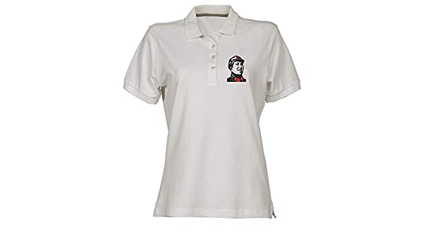 Polo para Mujer Blanco TCO0099 Mao TSE Tung: Amazon.es: Ropa y ...
