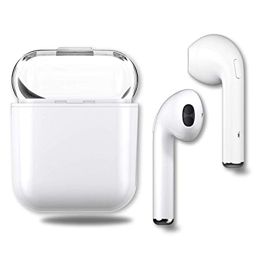 Bluetooth headset, wireless Bluetooth earbuds stereo headset cordless sports headset, Bluetooth in-ear headphones, built-in microphone, for Apple Airpods Android/iPhone