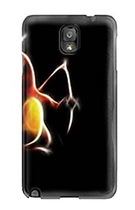 Slim Fit Tpu Protector Shock Absorbent Bumper Charizard - Pokemon Case For Galaxy Note 3