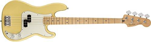 (Fender Player Precision Electric Bass Guitar - Maple Fingerboard - Buttercream)