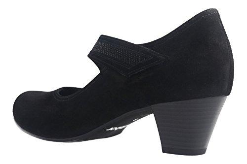 Gabor Women's 76.147.47 Court Shoes Black 6T18scQl