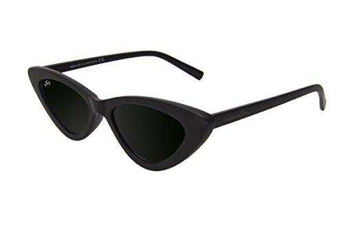 Gafas Montura 3 resistencia Lentes tendencia Wrong limpiadora funda Última The 100 Ojos de y en grabada Incluyen negra Sol Protection pasta Way de Gato Cat toallita UV alta de qExTvawH
