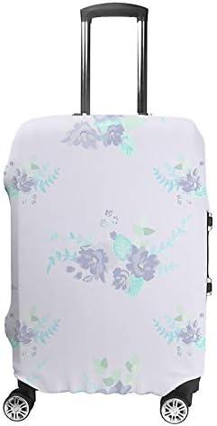 スーツケースカバー かわいい野生の花 伸縮素材 キャリーバッグ お荷物カバ 保護 傷や汚れから守る ジッパー 水洗える 旅行 出張 S/M/L/XLサイズ
