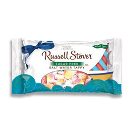 Russell Stover Sugar Free Salt Water Taffy, 10 Ounce