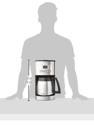 Cuisinart DCC-3400 12-Cup Programmable Thermal Coffeemaker, Stainless Steel