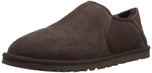 UGG Men's Kenton Slipper, Chocolate, 9 Medium US ()