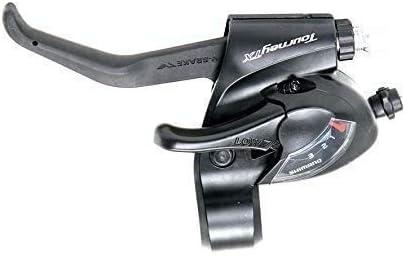 levier de frein St-TX 800 3x8-f Shimano tourneytx Boutons Paire Noir